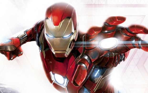 Iron Man In Captain America Civil War Art Wallpapers