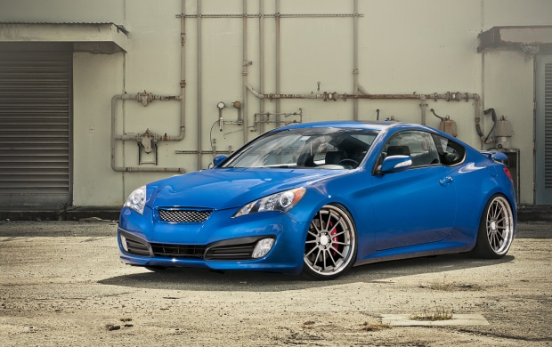ISS Forged Hyundai Genesis (click to view)
