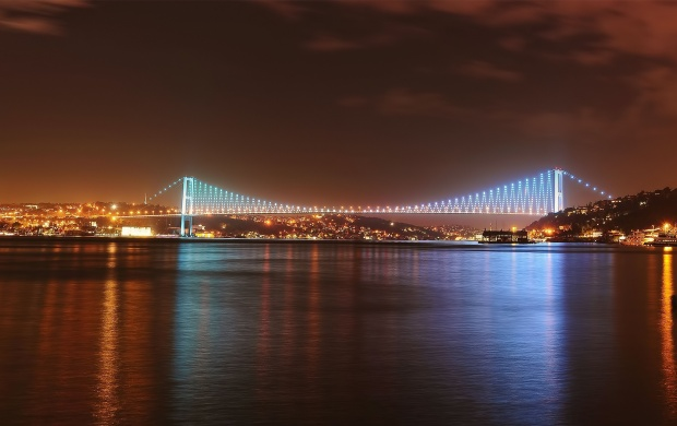 Istanbul Bosphorus Bridge (click to view)