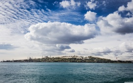Istanbul Seen From the Sea