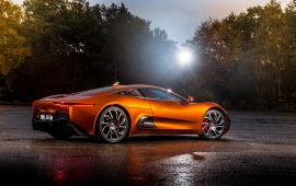 Jaguar C-X75 Bond Concept Side View
