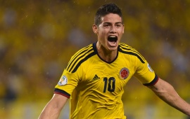 James Rodriguez Colombian Footballer