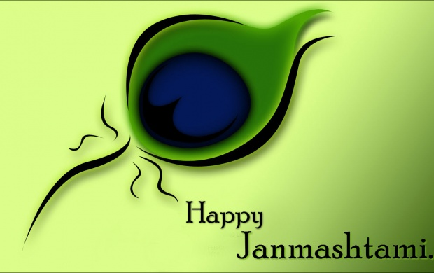 Janmashtami Peacock Feather Wishes (click to view)