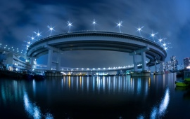 Japan Bridge Lights