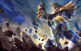 Jarvan IV League Of Legends