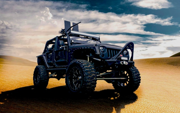 Jeep Wrangler For Army (click to view)