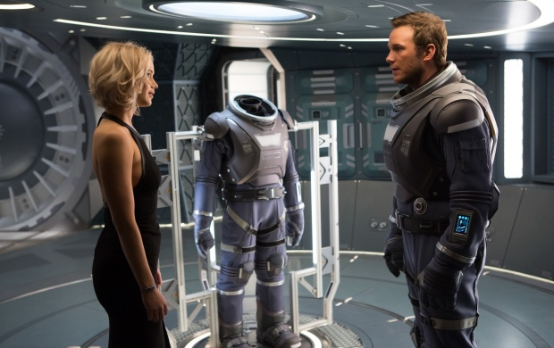 Jennifer Lawrence And Chris Pratt In Passengers (click to view)