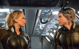 Jennifer Lawrence And Evan Peters X Men Apocalypse