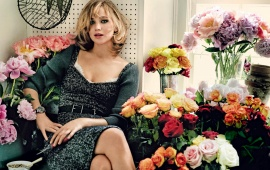 Jennifer Lawrence Vogue 2013