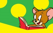 Jerry Reading Book