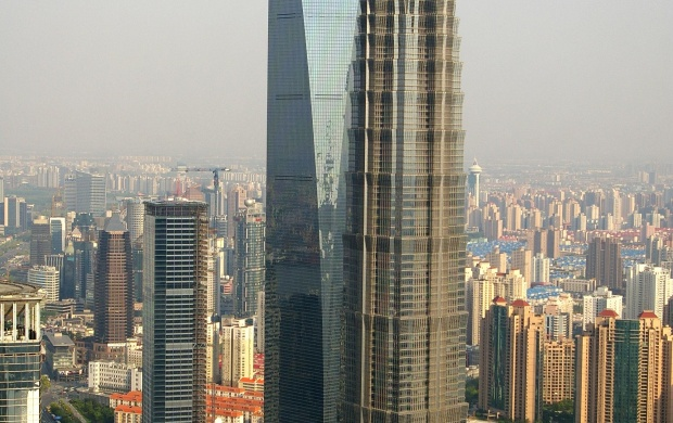 Jinmao Tower, Shanghai (click to view)