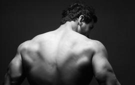 John Abraham Back Look