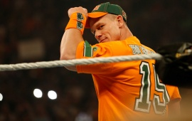 John Cena In Orange T Shirt