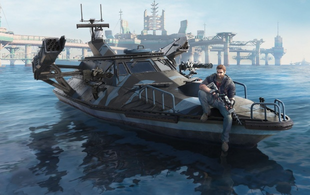 Just Cause 3 Bavarium Sea Heist (click to view)