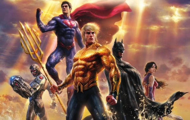 Justice League: Throne Of Atlantis 2015 (click to view)