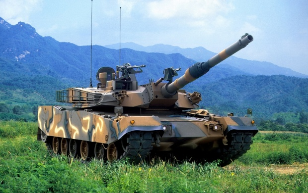 K1A1 Main Battle Tank (click to view)