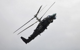 Ka-52 Alligator Helicopter