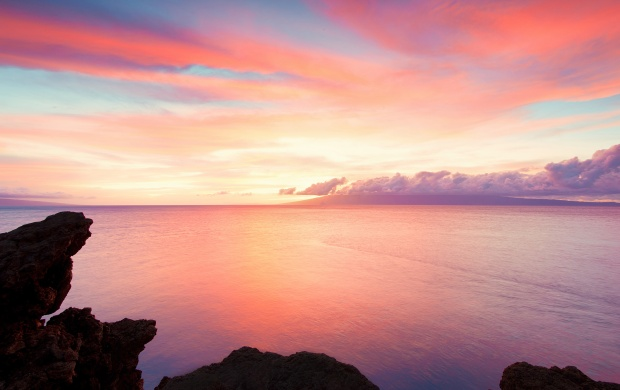 Kaanapali Sunrise Coast Hawaii (click to view)