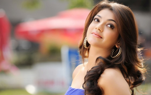 Kajal Agarwal In Blue Dress (click to view)