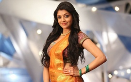 Kajal Agarwal Pretty Saree