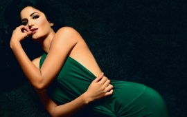 Katrina Kaif Green Dress