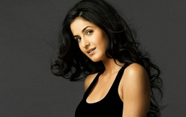 Katrina Kaif In Black Hair