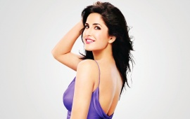 Katrina Kaif In Purple Dress