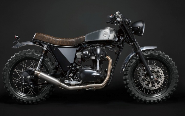Kawasaki W800 Custom Scrambler (click to view)