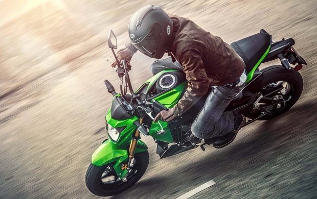 Kawasaki Z125 Pro First Look 2017 (click to view)