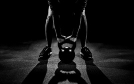 Kettlebell Man Workout