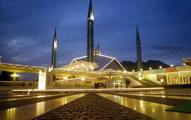 King Faisal Mosque (click to view)