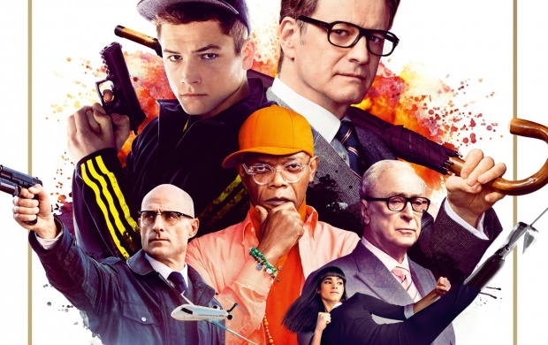 Kingsman: The Secret Service Poster (click to view)