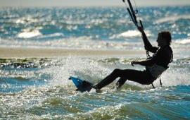 Kite Surfing Renesse Zeeland
