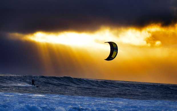 Kiteboarding (click to view)