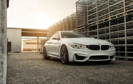 Klassen BMW M4 Midnight Frost M52R Wheels 2015