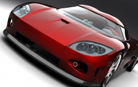 Koenigsegg Red