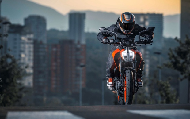 KTM 390 Duke 2017 Click To View