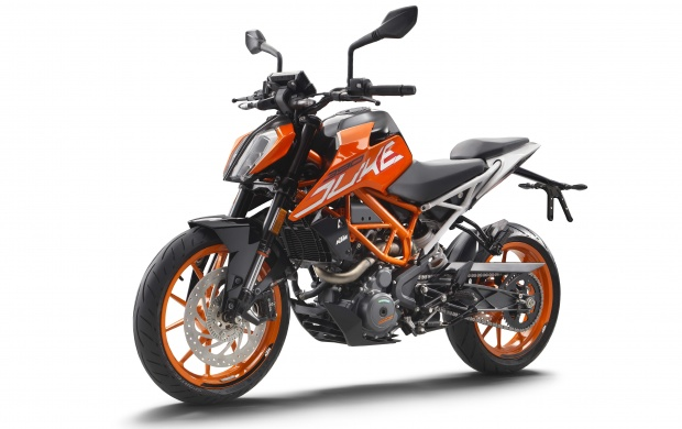 KTM 390 Duke Motorcycles 2017 (click to view)