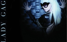 Lady GaGa In Black Goggles