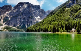 Lago Di Carezza Lake Italy