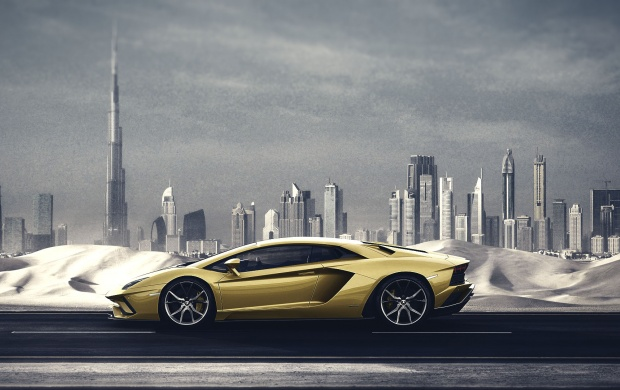 3480 Views Lamborghini Aventador S
