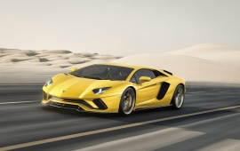 4026 Views Lamborghini Aventador S 2017