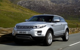 Land Rover Evoque Cars In Silver