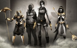 Lara Croft And The Temple Of Osiris 2014