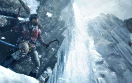 Lara Croft Rise Of Tomb Raider 2015