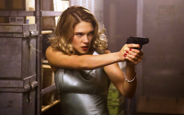 Lea Seydoux Action Spectre 2015 Click To View