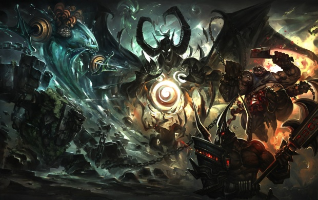 League Of Legends Art (click to view)