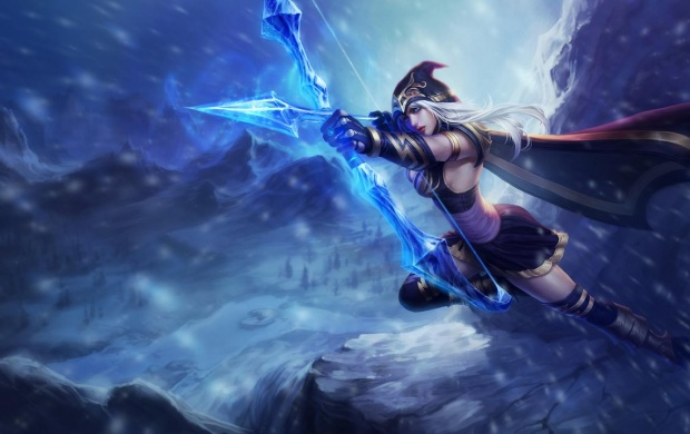 League Of Legends Ashe (click to view)