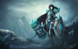 League Of Legends Female Taric