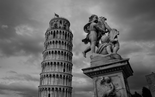 Leaning Tower Of Pisa, Italy (click to view)